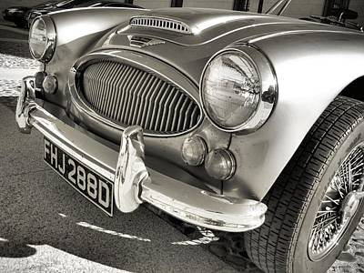 Auto Photograph - Classic Healey by Photo Proyectolabs