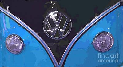 Hippie Van Photograph - Classic Volkswagen 3 by Cheryl Young