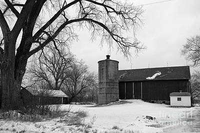 Clayton St Barn Print by Joel Witmeyer