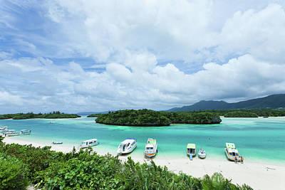 Clear Blue Lagoon, Paradise Beach, Ishigaki, Japan Print by Ippei Naoi