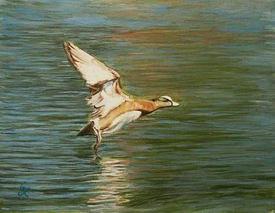 Painting - Clear For Takeoff by George Kramer