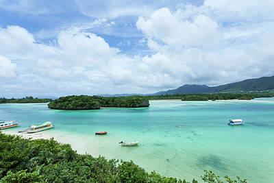 Clear Tropical Lagoon, Ishigaki Island, Okinawa Print by Ippei Naoi