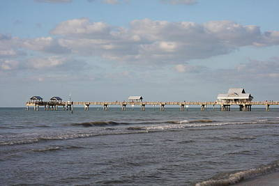 Jetty View Park Photograph - Clearwater Pier 69 by Christiane Schulze Art And Photography