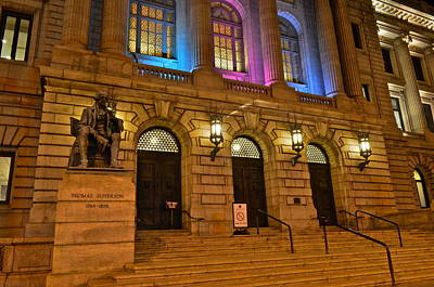 Cleveland Court House Print by Frozen in Time Fine Art Photography