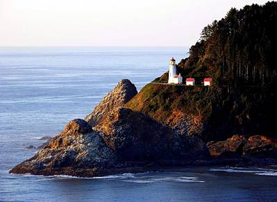 Beautiful Lighthouses Photograph - Cliff Dwellers by Karen Wiles