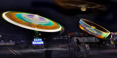 Carnival Photograph - Cliff Hanger by Joann Vitali