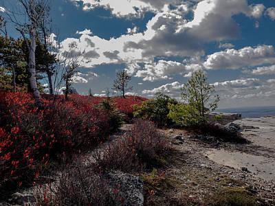 Shawanagunk Mountains Photograph - Clifftop Splendor by Jim DeLillo