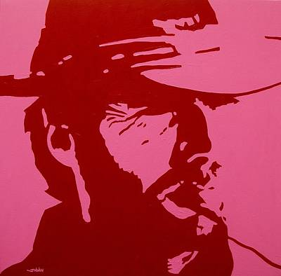Warhol Painting - Clint by John  Nolan
