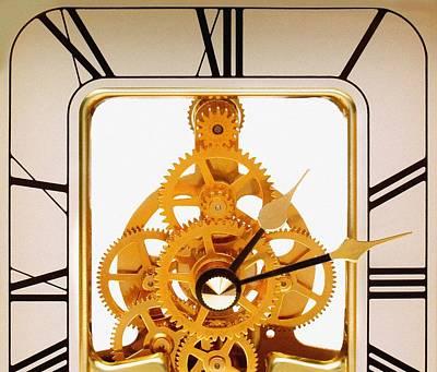 Clock Mechanism Print by Victor De Schwanberg