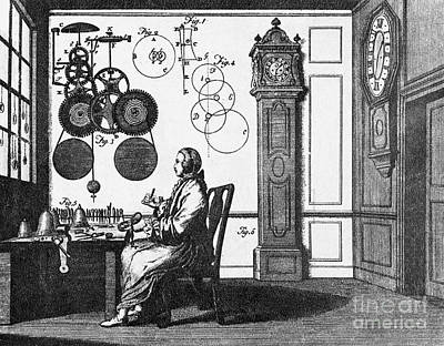 Clockmaker Print by Science Source