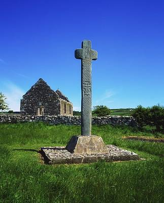 Cloncra Church, Inishowen Peninsula Print by The Irish Image Collection