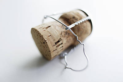 Photograph - Close Up Of Unscrewed Champagne Cork by Brett Stevens