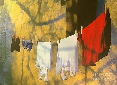Clothing Print by Odon Czintos