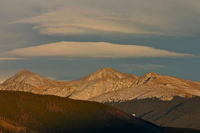 Bob Berwyn Photograph - Cloud Cap by Bob Berwyn