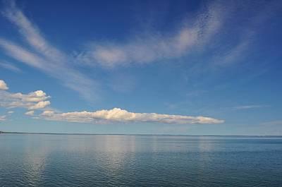 Clouds Of Prince Edward Print by Jeff Moose
