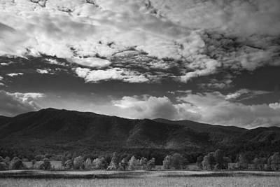 Clouds Over Cades Cove Print by Andrew Soundarajan