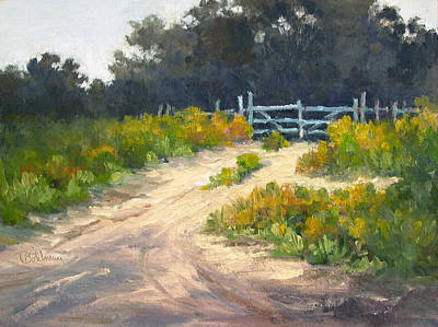 Painting - Cloudy Day On Fm1446 by Tina Bohlman