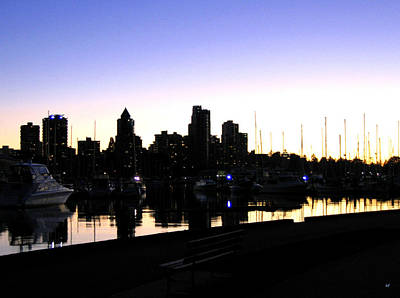 Coal Harbour Print by Will Borden