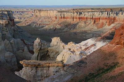 Elizabeth Rose Photograph - Coal Mine Canyon Arizona by Elizabeth Rose