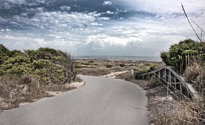 Paradise Road Photograph - Coastal Bend by Betsy C Knapp