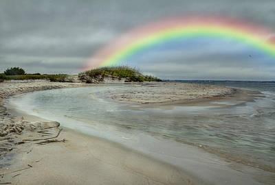 Coastal Color Print by Betsy C Knapp