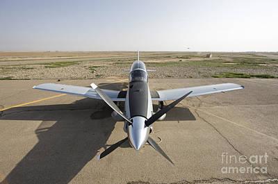 Cob Speicher Photograph - Cob Speicher, Tikrit, Iraq - A T-6 by Terry Moore