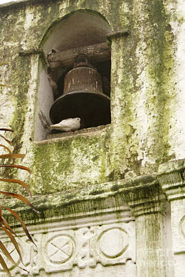 Coban Church Bell Print by John  Mitchell