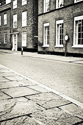 Cobbled Street Print by Tom Gowanlock