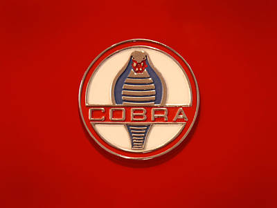 Cobra Digital Art - Cobra Emblem by Mike McGlothlen