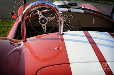 Carroll Shelby Photograph - Cobra by Luke Moore