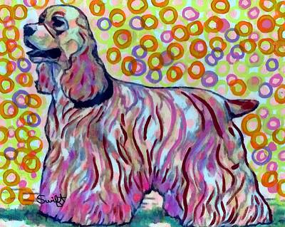 Dog Painting - Cocker Spaniel by Char Swift