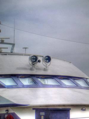 Digital Art - Cockpit by Barry R Jones Jr