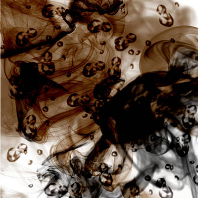 Coffee Print by Erick Rodriguez