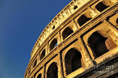 Coliseum. Rome Print by Bernard Jaubert