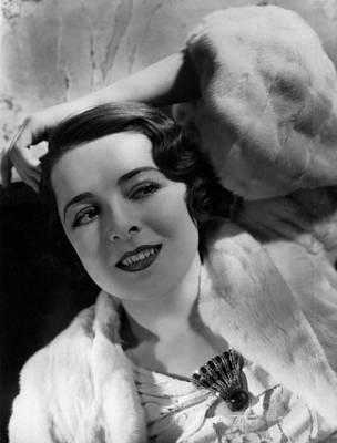Hurrell Photograph - Colleen Moore,  Portrait By Hurrell by Everett