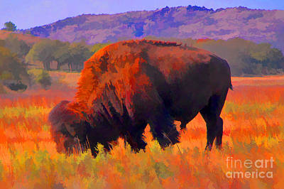 Yellowstone Digital Art - Color Me Wild by JohnD Smith