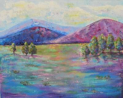 Maryann Painting - Colorado Morning  by MaryAnn Ceballos