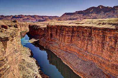 Colorado River Print by Jon Berghoff