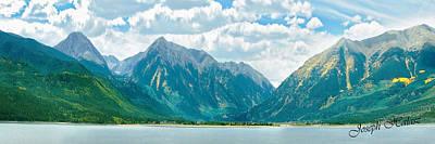 Colorado Rockies Panorama Original by Joseph Halasz