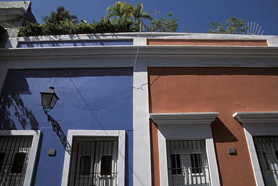 Colorful Architecture In Old San Juan Print by Scott S. Warren