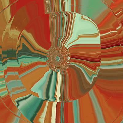 Colorful Circles Print by Bonnie Bruno