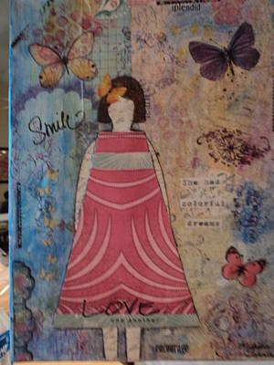 Colorful Dreams  Print by Anne-Elizabeth Whiteway