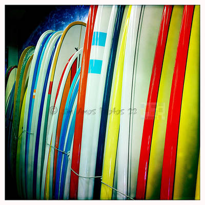 Colorful Longboards Original by Jason Bogs