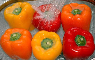 Pepper Photograph - Colorful Peppers by LeeAnn McLaneGoetz McLaneGoetzStudioLLCcom