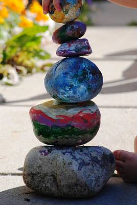 Colorful Zen II Print by Evelina Popilian