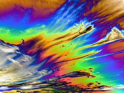 Colors Print by Kathleen Nash