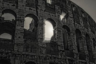 Colosseum Print by Michael Avory