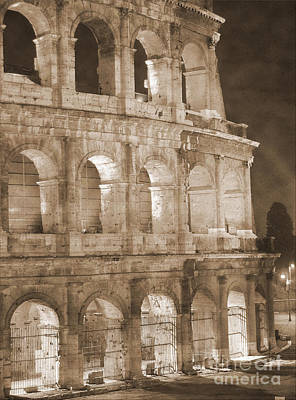 Colosseum Print by Stefano Senise