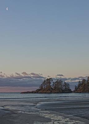 Combers Beach At Dawn, Tofino, British Print by Robert Postma