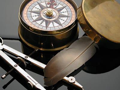 Compass To Compass Original by Gary James